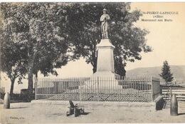 St Saint-Priest-Laprugne (La Prugne, Loire) Monument Aux Morts - Edition Vallas - Carte N° 527 - Monumenti Ai Caduti