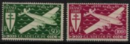 PA N° 4 Et N° 5 - X X - ( C 214 ) - Guadeloupe (1884-1947)