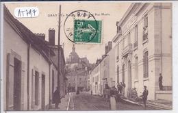 GRAY- LA BANQUE DE FRANCE- RUE MAVIA - Gray