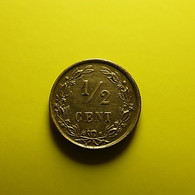 Netherlands 1/2 Cent 1891 - 0.5 Cent