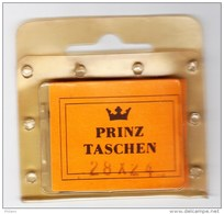 BANDE PREDECOUPEE PRINZ 28x24 NOIR (25 Piéces) . - Taschine