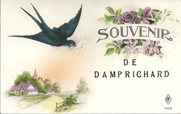 SOUVENIR De DAMPRICHARD  - 25 - Doubs - Hirondelle - Autres Communes