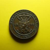 Netherlands East Indies 1/2 Cent 1860 - Indes Neerlandesas