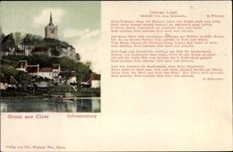 Chanson Cp Kleve Am Niederrhein, Clever Lied, Aug. Schroeder, Schwanenburg - Germany