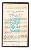 DP Henri Perdu ° Gits 1860 † Warneton Waasten 1926 X M. Coussement - Devotion Images
