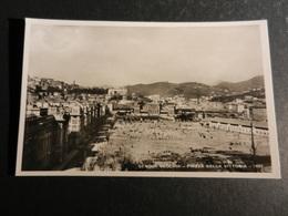 20018) GENOVA VECCHIA PIAZZA DELLA VITTORIA 1922 SENZA ARCO DELLA VITTORIA EDITORE MANGINI & C. NON VIAGGIATA - Genova (Genoa)