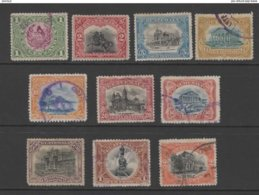 Guatemala 1902 Emblems & Other Designs Stamp Set Used. - Guatemala