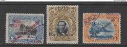 Guatemala 1911 Surcharged Stamp Set Used. - Guatemala