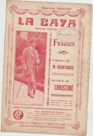 (FRAGSON )LA BAYA , Paroles M HEURTEBISE , Musique CHRISTINE - Partitions Musicales Anciennes