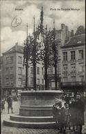 Cp Antwerpen Anvers Flandern, Puits De Quentin Massys, Kinder, Brunnen, Café - België