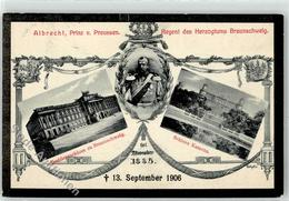 53083587 - Prinz Albrecht Trauerkarte - Familles Royales