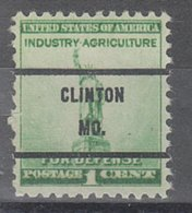 USA Precancel Vorausentwertung Preo, Bureau Missouri, Clinton 899-71 - Vereinigte Staaten