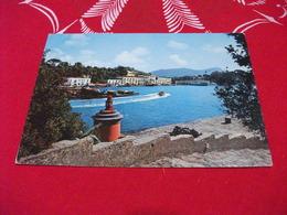 FARO Phare Lighthouse Leuchtturm MOTOSCAFO ENTRA IN PORTO ISOLA D'ISCHIA CAMPANIA NAVE SHIP BOAT TRAGHETTO - Faros