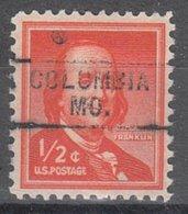 USA Precancel Vorausentwertung Preo, Locals Missouri, Columbia 745 - Vereinigte Staaten