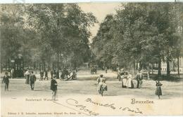 Bruxelles 1903; Boulevard Waterloo - Voyagé. (J.H. Schaefer - Amsterdam) - Belgien