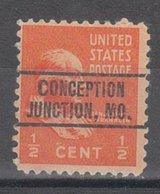 USA Precancel Vorausentwertung Preo, Locals Missouri, Conception Junction 264 - Vereinigte Staaten
