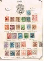 Haïti. Ancienne Collection. Old Colletion. - Postzegels