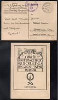 ALLEMAGNE - III REICH - NURNBERG / 1940 CARTE DE VOEUX EN FRANCHISE (ref LE3857) - Allemagne