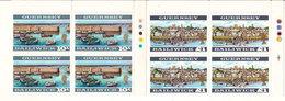 (Fb).Guernsey.1969.-10s + 1£ Dentellati 13 1/4 X 13 In Quartina Nuova Con Gomma Integra,MNH (35-17) - Guernsey