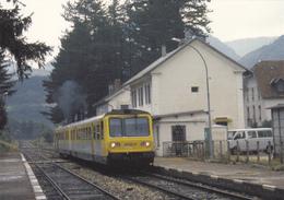 (1)   LUS LA CROIX HAUTE - La Gare - Autres Communes