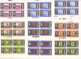 (Fb).Guernsey.1969-70.Prima Serie Completa Nuova (18 Val) In Quartine Con Gomma Integra,MNH(2 Scan) (34-17) - Guernsey