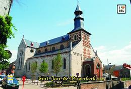 Set 9 Cartes Postales, églises, Churches Of Europe, Belgium, Tongeren, Sint-Jan-de-Doperkerk - Kirchen U. Kathedralen