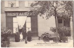 CAUSSADE - Restaurant  Henri DENILLE , Boulevard Carnot. - Caussade