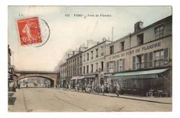 75 PARIS - 19ème, Pont De Flandre, Aquarellée - District 19