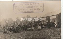 Dorset  WIMBORNE J.Dibben Agricultural Engineers Ivel Tractor RP  D272 - Angleterre