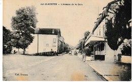 Saône Et Loire LA CLAYETTE L'avenue De La Gare - France