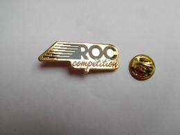 Superbe Pin's En EGF , Auto , ROC Competition Reynard-VW 2KQ - 24 Heures Du Mans , Sport Proto , Signé APEC - Pin's