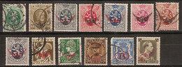 (Fb).Belgio.Servizio.1929/42.Lotto 13 Val Nuovi E Usati (258-18) - Dienstpost
