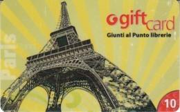 Gift Card Italy Giunti Paris Eiffel Tower - Gift Cards