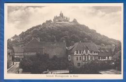 Deutschland; Wernigerode; Schloss - Wernigerode