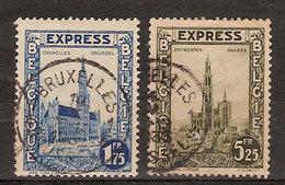 (Fb).Belgio.Espressi.1929.Lotto 2 Val Usati (257-18) - Belgien
