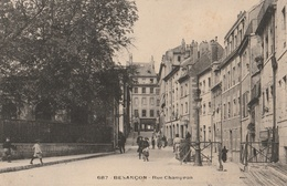 BESANCON  Rue Champron - Besancon