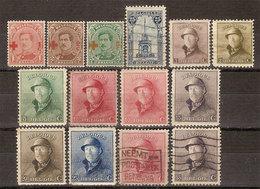 (Fb).Belgio.1894-1940.Lotto Di Serie E Spezzature Nuove Linguellate (5 Scan) (89-92-166/15+157-159/18) - Belgien