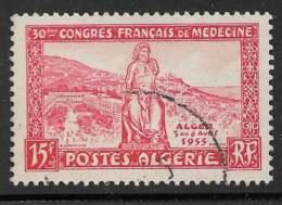Maury 329 - 15 F Statue D'Esculape - O - Algérie (1924-1962)
