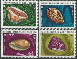Afars Et Issas N° 377 / 80  XX  Coquillages La Série Des 4 Valeurs  Sans  Charnière, TB - Afars Et Issas (1967-1977)