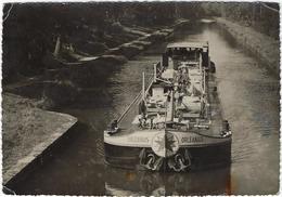 89 La Chapelle-vieille-foret Le Canal De Bourgogne  Peniche  Orleanais - Frankreich
