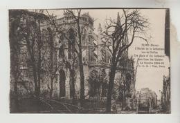 3 CPA REIMS (Marne) GUERRE 1914/18 - Abside Cathédrale, La Cathédrale, Cathédrale Vue De La Rue De L'Ecole De Médecine - Reims