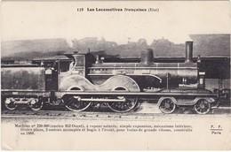 Les Locomotives Françaises ( état ) Machine N° 220-360 - Ancien 952 Ouest -à Vapeur Saturée - Trains