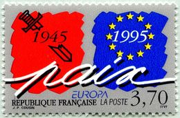 N° Yvert & Tellier 2942 - Timbre De France ( * * ) - (Année 1995) - Europa Paix Et Liberté - Francia