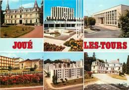 37 - Joué Les Tours - Multivues - Immeubles - Flamme Postale De Joué Les Tours - Voir Scans Recto-Verso - Other Municipalities