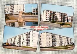 37 - Joué Les Tours - Le Morier - Multivues - Immeubles - Carte Neuve - Voir Scans Recto-Verso - Other Municipalities