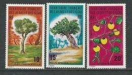 Afars Et Issas N° 390 / 92 XX Forêt Du Day  Les 3 Valeurs Sans Charnière, TB - Afars Et Issas (1967-1977)