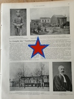 """1905 LE COMPLOT DES """" TAMBURINAIRES """" COURBEVOIE CAFÉ FRANCAIS PLACE CHARRAS - CITÉ DES CHIFFONIERS NANTERRE PUTEAUX - 1900 - 1949"""