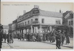 Courtenay-Les Magasins BORNET-MITTOM - Courtenay