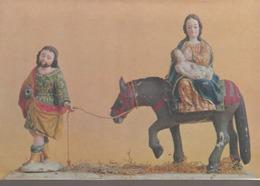 C. P. - PHOTO - SANTONS - LA FUITE EN EGYPTE - SCULPTUR DE L'ART FOLKLORIQUE ÉQUATORIEN - MUSÉE D'ART COLONIAL DE QUITO - Europe