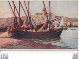 Vue De Constantinople-Quai De Stamboul-Tour De Galata - Turchia